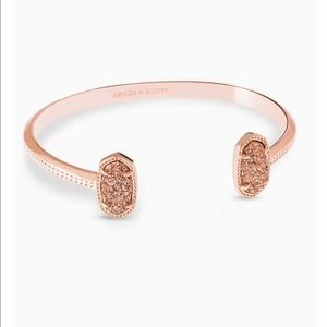 KENDRA SCOTT - Elton Rose Gold Cuff Bracelet